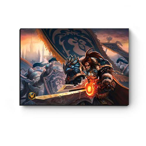 Tudo sobre 'Quadro Decorativo A5 World Of Warcraft Varian I'