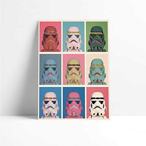 Quadro Decorativo - Darth Vader Pop - Quadro 20x30