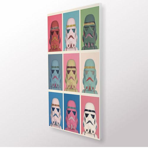 Quadro Decorativo - Darth Vader Pop - Quadro 30x55