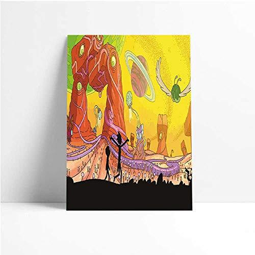 Quadro Decorativo - Rick And Morty - Quadro 20x30
