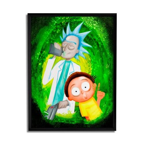 Quadro Decorativo Rick And Morty