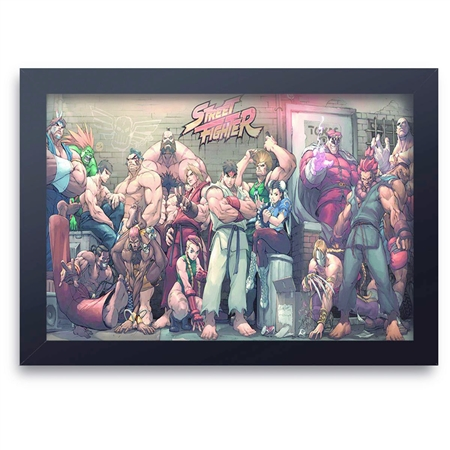Quadro Decorativo Street Fighter 12