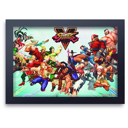 Quadro Decorativo Street Fighter 10