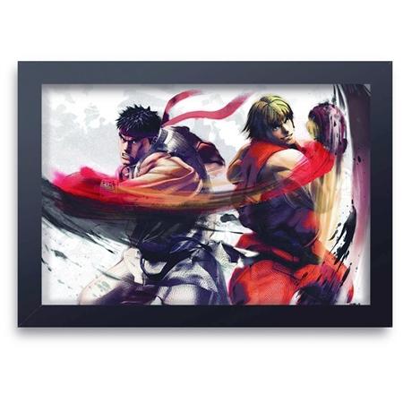 Quadro Decorativo Street Fighter 11