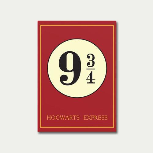Quadro Harry Potter 9 3/4