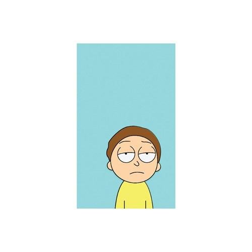 Quadro Rick And Morty Blue Morty