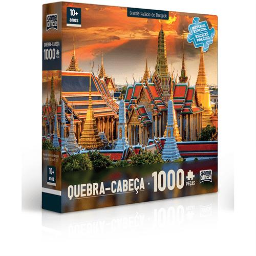 Tudo sobre 'Quebra-cabeça 1000 Peças Palácio de Bangkok'