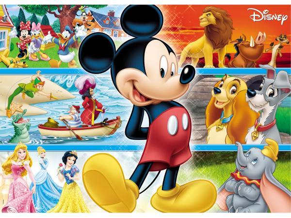 Quebra-Cabeça 48 Peças Disney Gigante - Grow