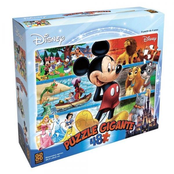 Quebra Cabeça 48 Peças Gigante Disney - Grow