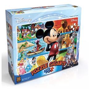 Quebra Cabeça 48 Peças Gigante Disney