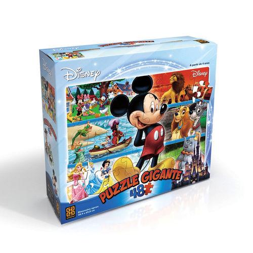 Quebra Cabeça 48 Peças Gigante Grow - Disney