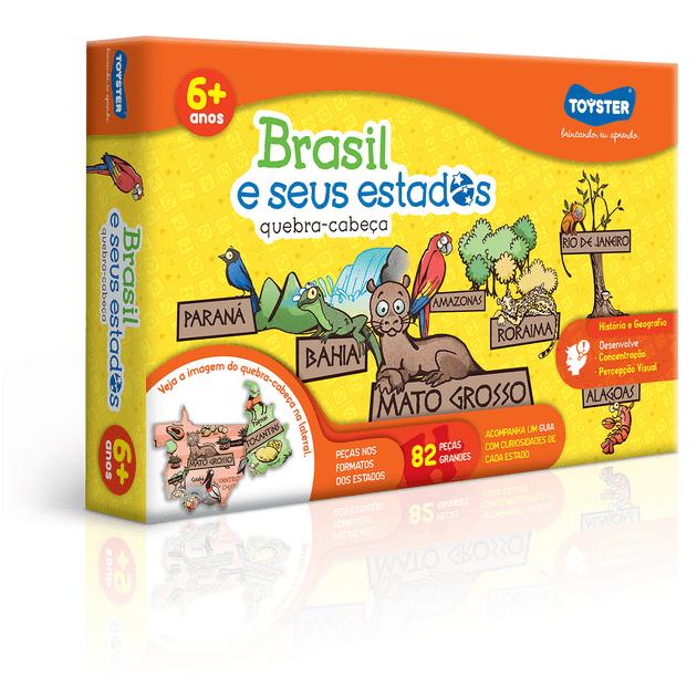 Tudo sobre 'Quebra-cabeça Brasil e Seus Estados'