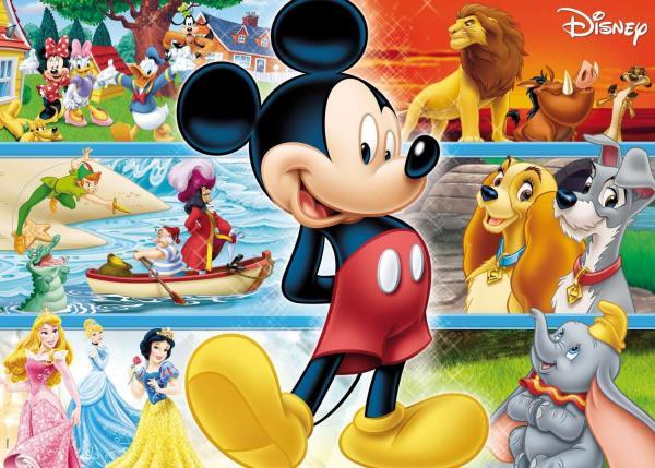 QUEBRA-CABECA Cartonado Disney Gigante 48PECAS Unidade GROW