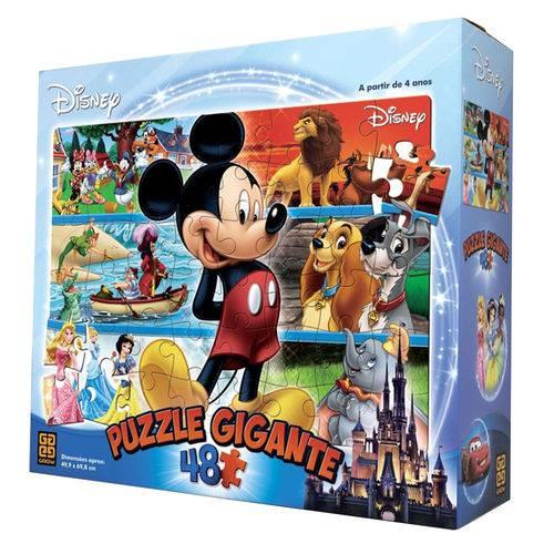 Quebra-Cabeça Gigante - 48 Peças - Disney - Grow