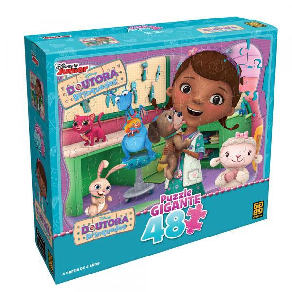 Quebra-Cabeça Gigante Doutora Brinquedos Grow - Grow