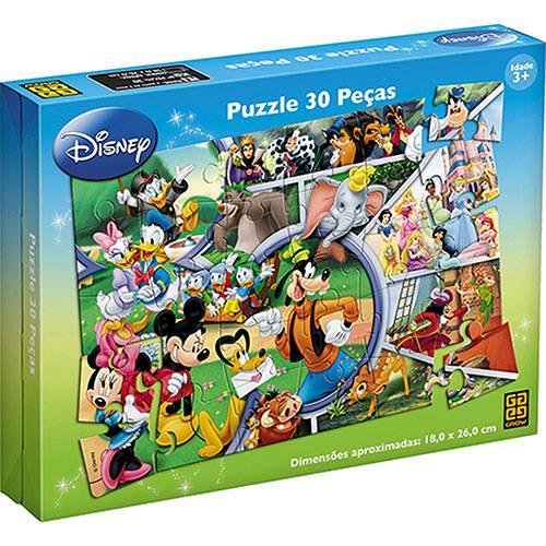Tudo sobre 'Quebra Cabeça Pisa Disney 30 Peças - Grow'