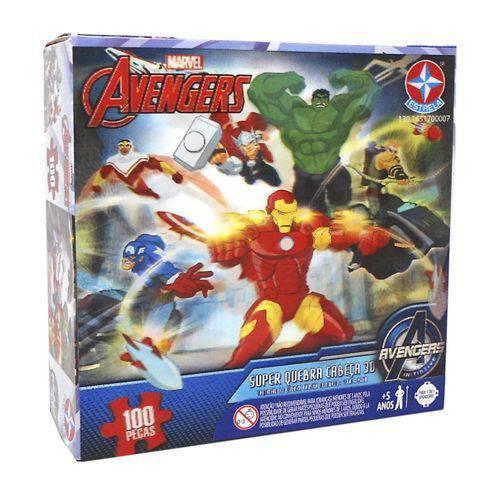 Tudo sobre 'Quebra-cabeça Super Avengers - Syg06 - Estrela'