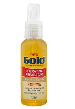 Queratina Liquida Niely Gold 120ml