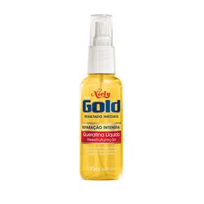Queratina Liquida Niely Gold com 120 Ml