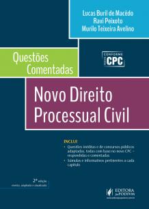 Questões Comentadas - Novo Direito Processual Civil (2017)