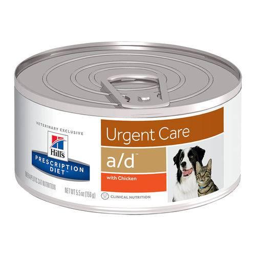 Tudo sobre 'Ração A/D Hills Diet para Cachorro e Gatos - 156g'