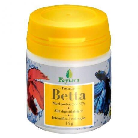 Ração Betta Premium Poytara (4g)
