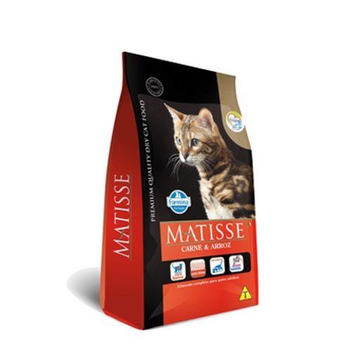 Tudo sobre 'Ração Farmina Matisse Carne & Arroz para Gatos 800g'
