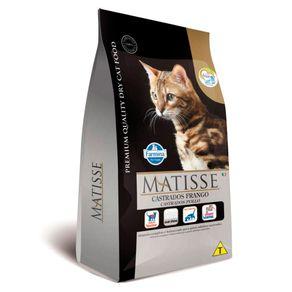 Tudo sobre 'Ração Farmina Matisse Gatos Castrados Frango 10,1kg'