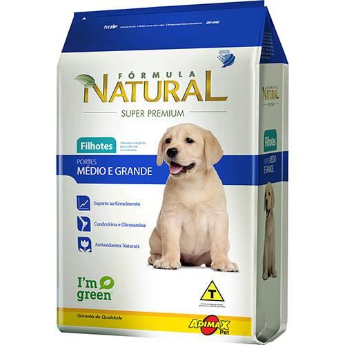 Tudo sobre 'Ração Fórmula Natural Super Premium para Cães Filhotes Mix 2,5kg'