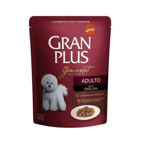 Tudo sobre 'Ração Guabi Gran Plus Gourmet Ovelha e Arroz para Cães Adultos 85g'