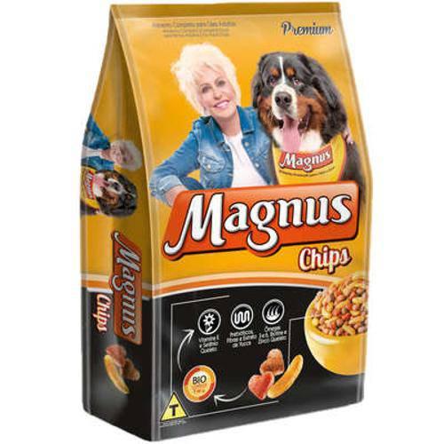 Tudo sobre 'Ração Magnus Chips para Cães Adultos - 25 Kg'