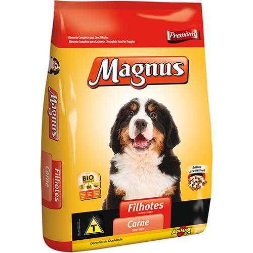 Tudo sobre 'Ração Magnus Premium para Cães Filhotes Carne 10kg'