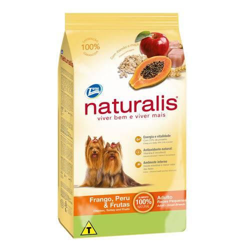 Tudo sobre 'Ração Naturalis Cães Adultos Raças Pq. Frango, Peru & Frutas 2kg'