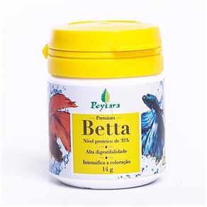 Ração para Peixe Betta Premium 14G