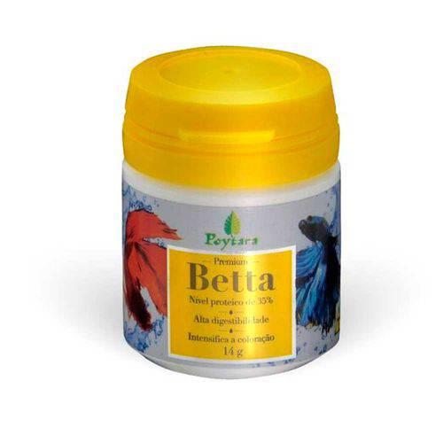 Ração Poytara Premium Betta 14g