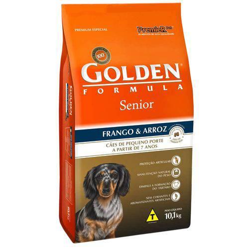 Tudo sobre 'Ração Premier Golden Formula Cães Sênior Mini Bits Frango e Arroz'