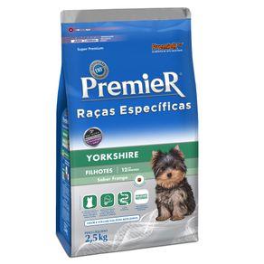 Tudo sobre 'Ração Premier Raças Específicas Yorkshire Filhote 1 Kg'