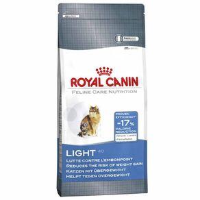 Tudo sobre 'Ração Royal Canin Feline Light 40 7,5kg'