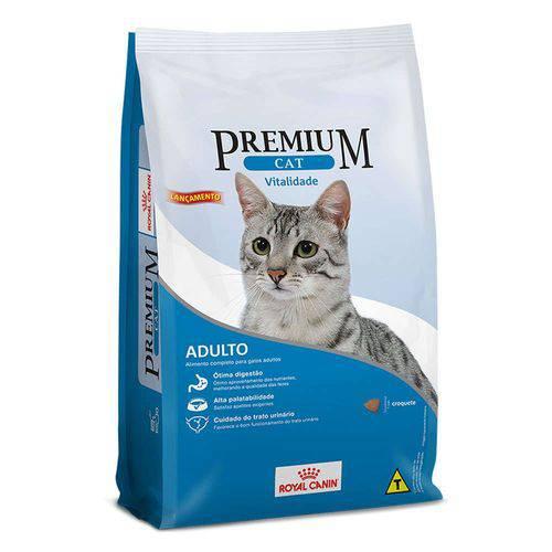 Tudo sobre 'Ração Royal Canin Premium Cat Vitalidade para Gatos Adultos'