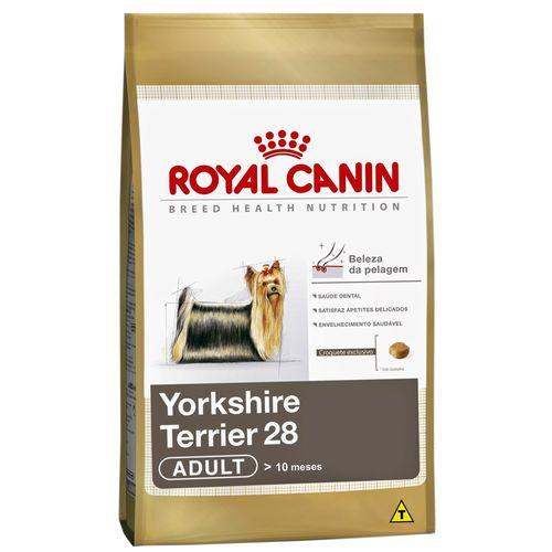 Tudo sobre 'Ração Royal Canin Yorkshire Terrier Adult 1kg'