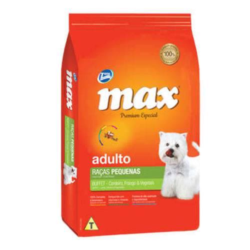 Tudo sobre 'Ração Total Max Buffet Raças Pequenas Cordeiro Frango e Vegetais para Cães Adultos - 1 Kg'