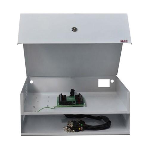 Rack Manager Box Mini Light 8 Canais Híbrido 2278 Max Eletron - Rack Manager Box Mini Light 8 Canais Híbrido 2278 - Max Eletron