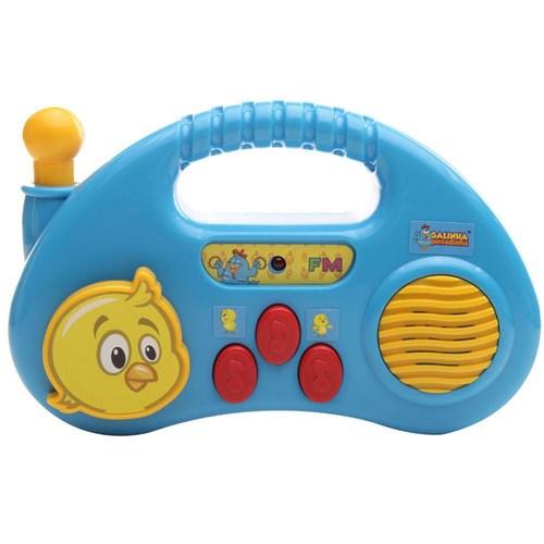 Rádio Bebê Musical Galinha Pintadinha - Dican