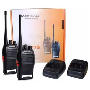 Radio Comunicador Baofeng 777s Walk Talk Uhf Vhf 12km