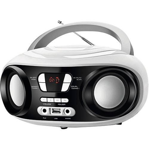 Tudo sobre 'Rádio Portátil Mondial Bx-14 Up White FM USB Fone e Auxiliar Branco'