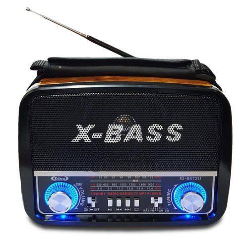 Tudo sobre 'Rádio Retrô Vintage Portátil Am Fm USB Cartão Lanterna'