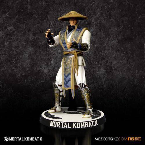 Tudo sobre 'Raiden - Mortal Kombat X Mezco'