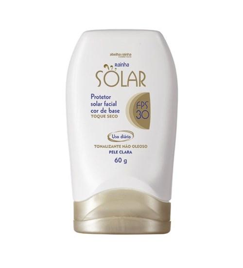 Rainha Solar – Bloqueador Facial Cor de Base Claro Fps-30 60G - 3438