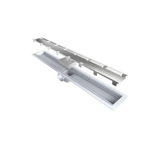 Ralo Linear Seco com Tampa Oculta 60 e 70cm Smart Line