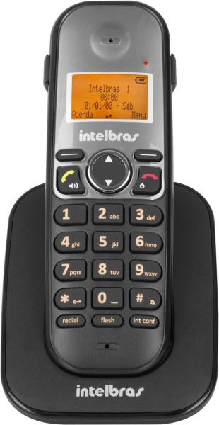 Ramal Telefone Sem Fio Ts 5121 Preto Intelbras